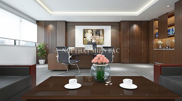 Thiết kế nội thất văn phòng giám đốc điều gì là quan trọng nhất - H2