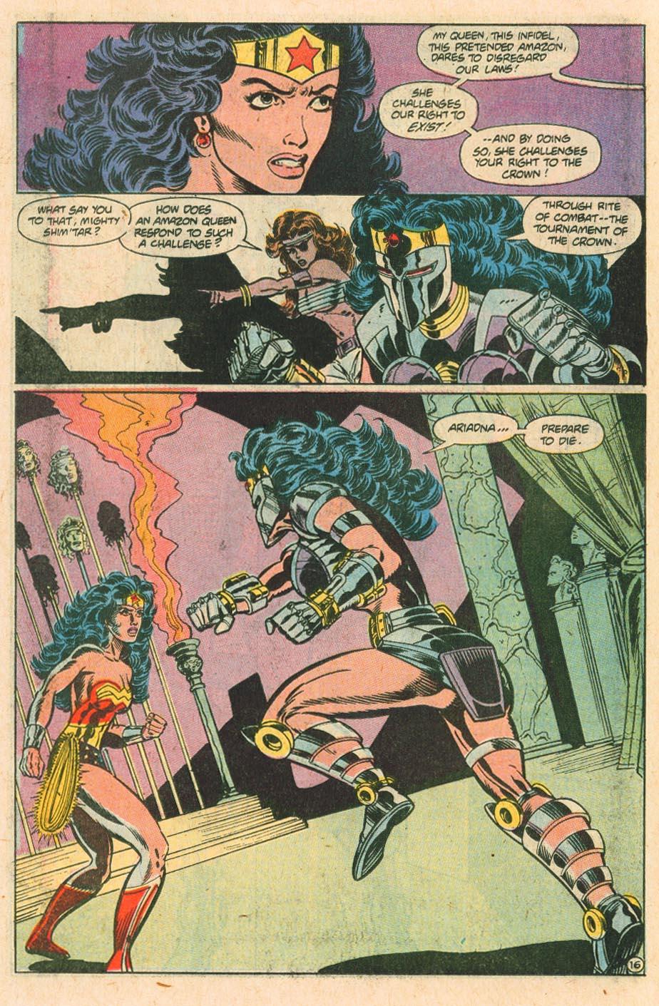 Read online Wonder Woman (1987) comic -  Issue #34 - 17