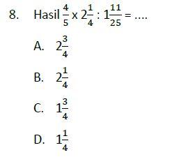 Lengkap 35 Contoh Soal Latihan Un Matematika Sd Kunci Jawaban Paket A Bospedia