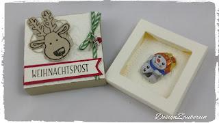 kleine Verpackung Weihnachten