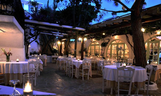 Restaurantes de lua de mel em Mykonos