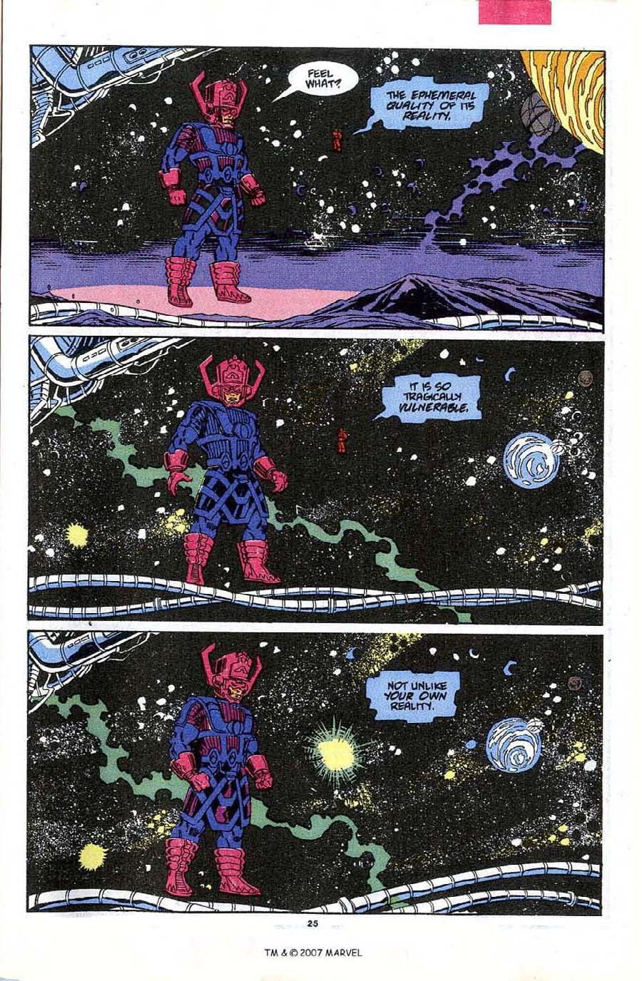 Read online Silver Surfer (1987) comic -  Issue #48 - 27