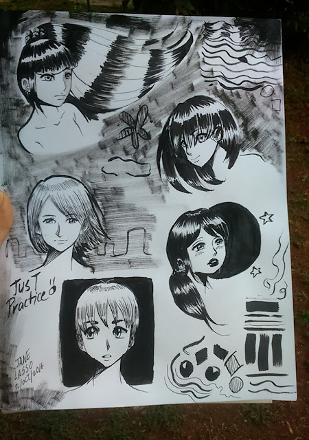 Dibujos con tinta china