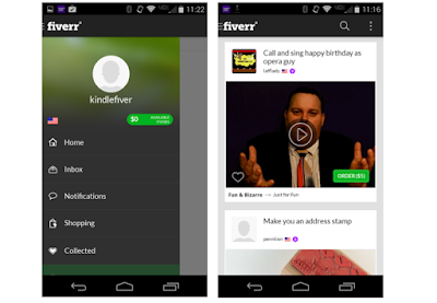 Fiverr Freelance Services App For Android