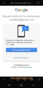 cambiar contraseña gmail olvidada