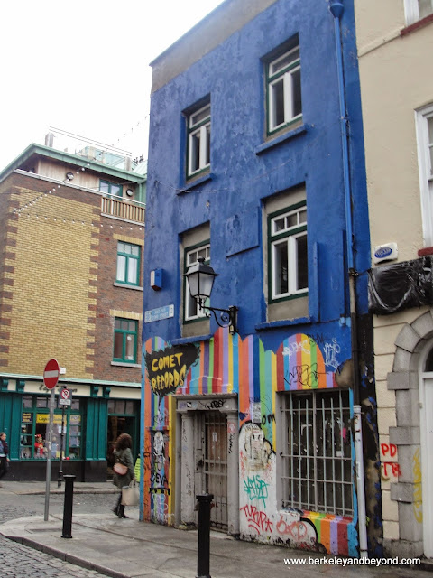Comet Records in Dublin, Ireland