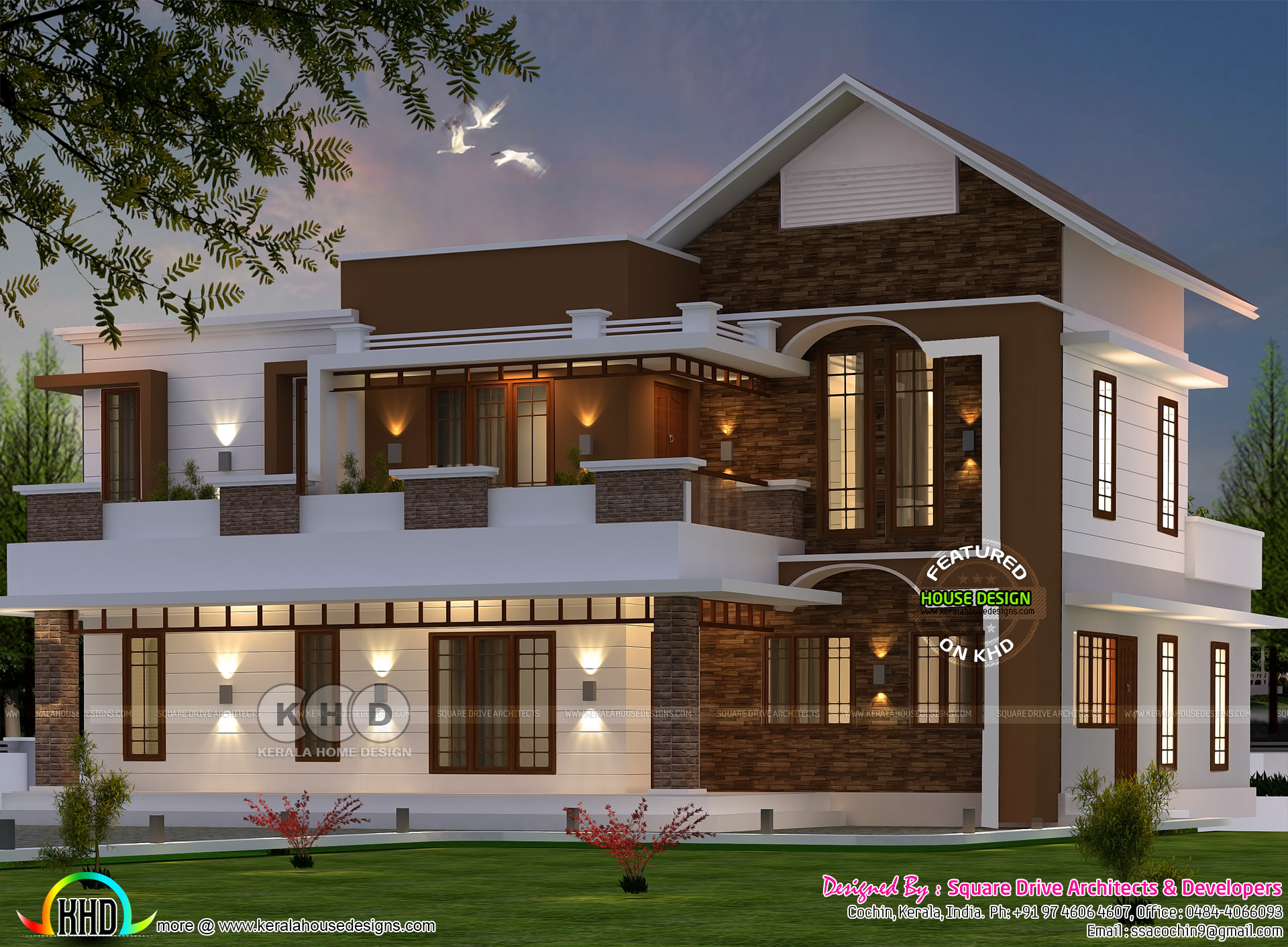 latest house designs 1750 square feet 4 bedroom double floor new modern home 2700 square feet 4 bedroom mixed roof modern house