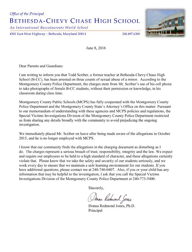 Parents' Coalition of Montgomery County, Maryland: Breaking