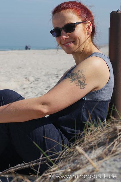 Jumpsuit nähen - Julika von Pruella - aus Jeansjersey 'Daytona' von mira-rostock.de