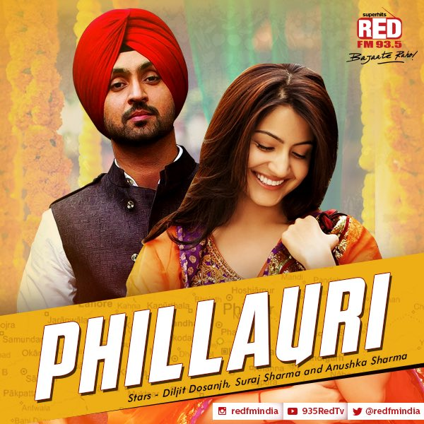 Phillauri next upcoming movie first look, Poster of Anushka, Diljit, Suraj download first look Poster, release date