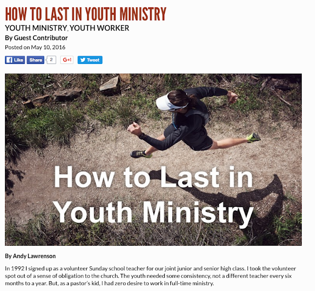 One student ministry resource I love is LeaderTreks.  Great material for student leadership and for discipleship.  Check them out!  I'm honored that LeaderTreks invited me to write a blog post for them.