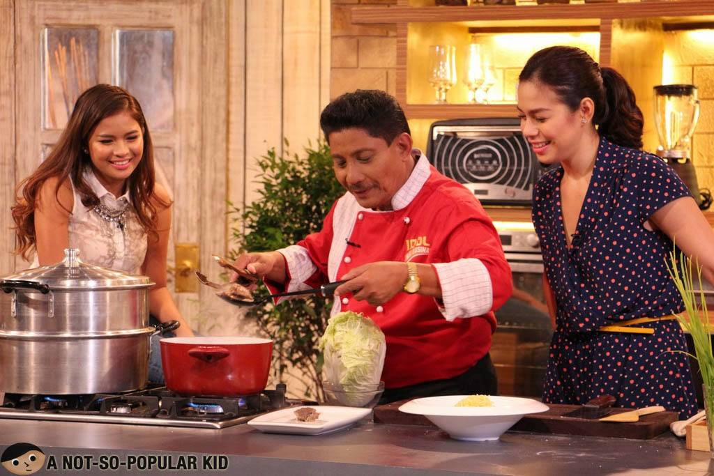 Idol Sa Kusina - Chef Boy Logro with Bettinna Carlos and Louise Delos Reyes
