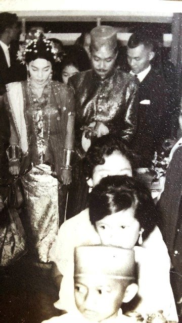Pernikahan Rooswidiyati Tendean - Jusuf Razak