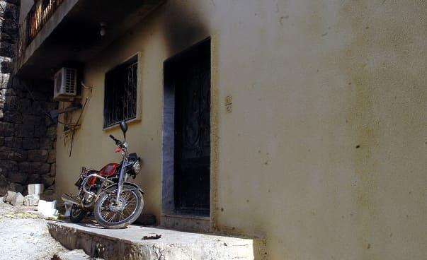 حريق منزل يودي بحياة مواطن في قرية ريمة حازم بالسويداء.