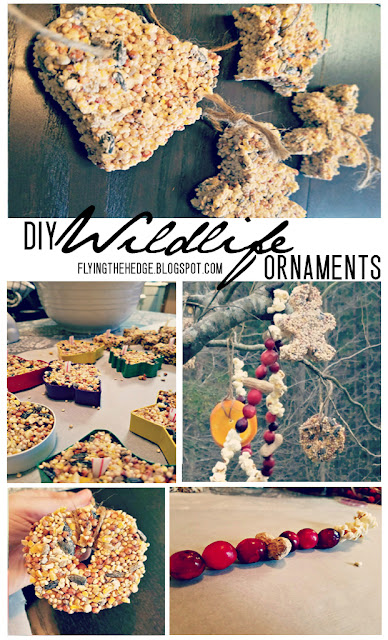 DIY Wildlife Ornaments