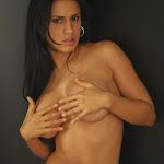 Andrea Rincon, Selena Spice Galeria 19: Buso Blanco y Jean Negro, Estilo Rapero Foto 146