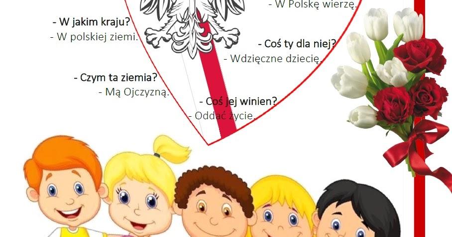 Blog Edukacyjny Dla Dzieci Katechizm Polskiego Dziecka
