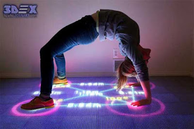 Interactive Floor Projection, Interactive Led floor, ifloor