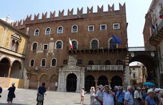 Plaza de los Señores o Signori de Verona.
