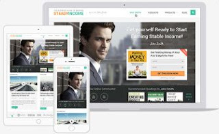 steady income theme responsive