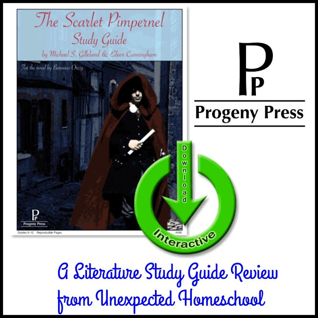 Progeny Press E-Guide of The Scarlet Pimpernel