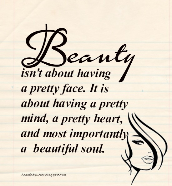Inner Beauty Quotes Inner Beauty Quotes  Heartfelt Love And Life Quotes