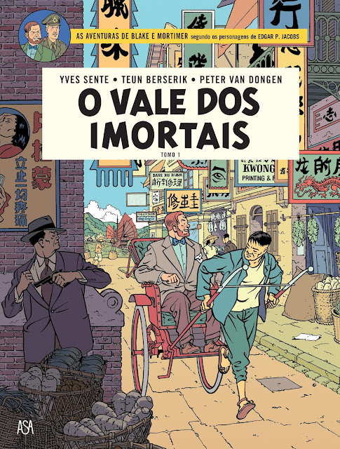 As capas portuguesas do novo Blake e Mortimer