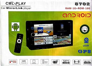 autoradio gps android 7.1 con telecomando