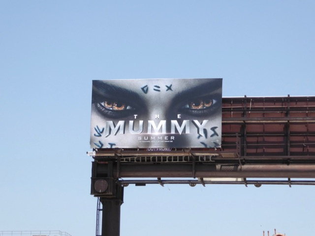 Mummy 2017 reboot billboard