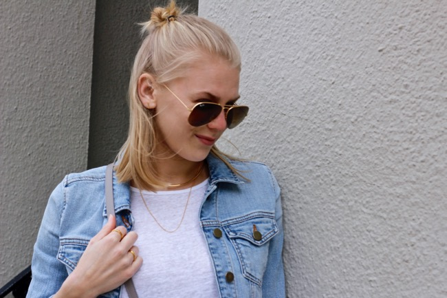 Shae Roderick, style, blog, Current Habits, double denim
