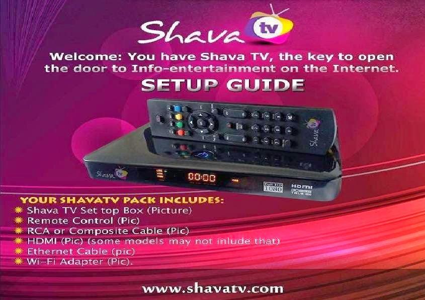 Shava Gold Tv Box
