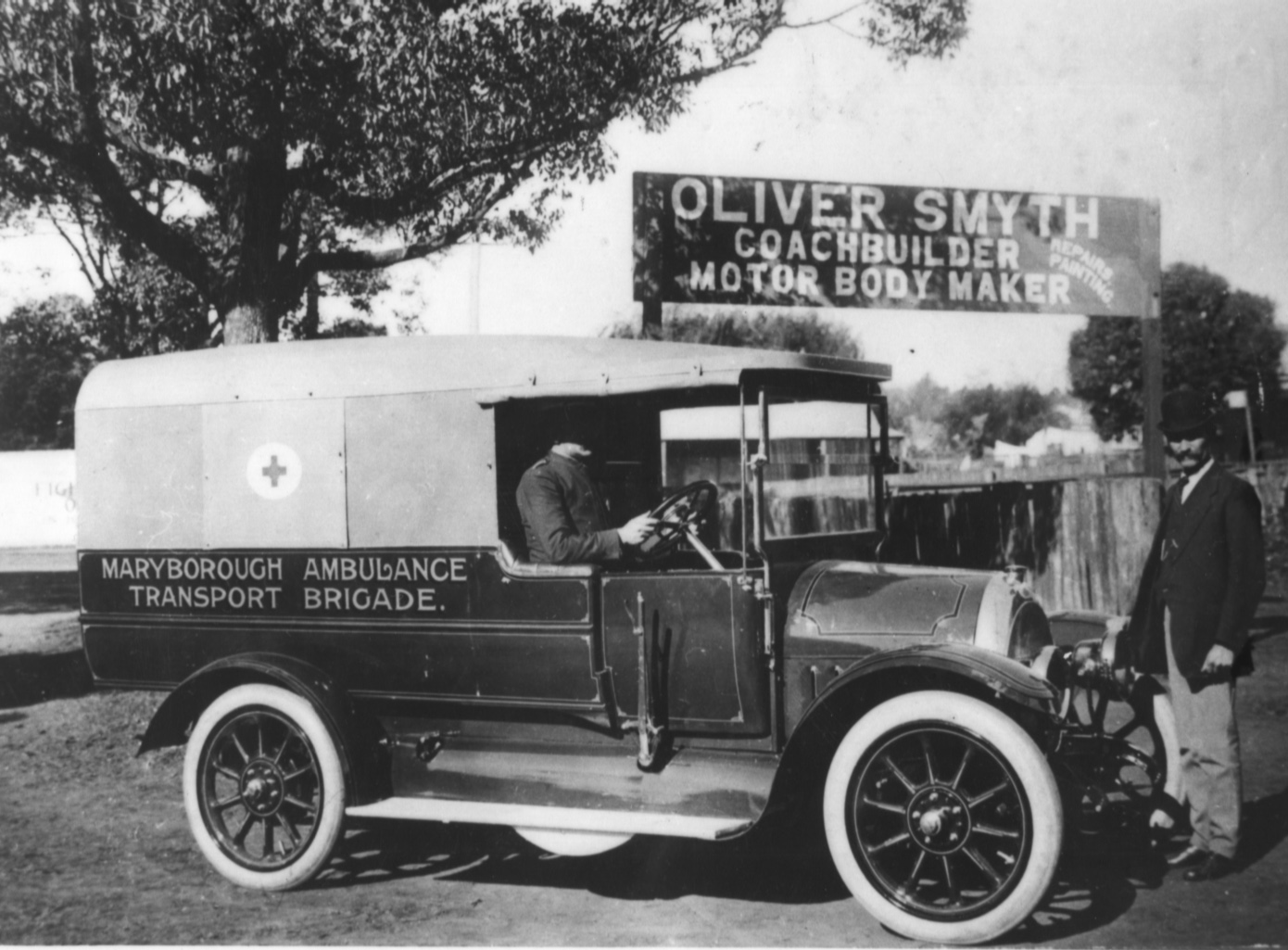 Tsa Has New Motto >> Fraser Coast Libraries Local History Blog: The Fraser Coast Ambulance Service - started in 1897 ...