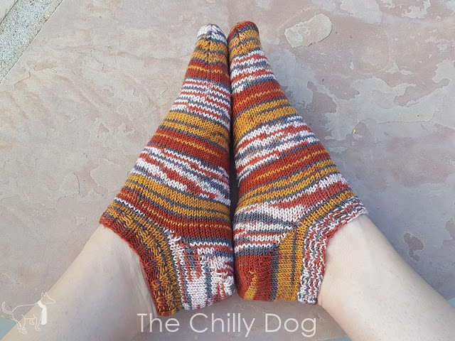 Knitting Tip: An easy way to knit the perfect pair of mis-matched socks.