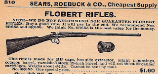 .22 BB Flobert Parlor Gun Advertisment 6mm