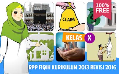 Download RPP Fiqih MA-SMA Kurikulum 2013 Kelas X Revisi 2016