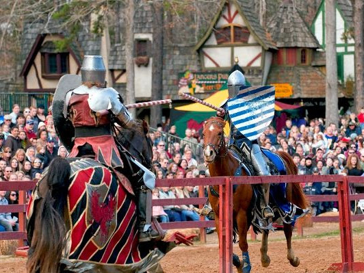 Travel Back in Time at the Carolina Renaissance Festival Sept. 30 - Nov. 19th + FREE Child Admission