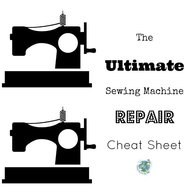 Ultimate Sewing Machine Repair Cheatsheet