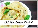 Toasted ChickenCheese Ravioli