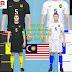 PES 2018 Malaysia Kits By Guji Lai