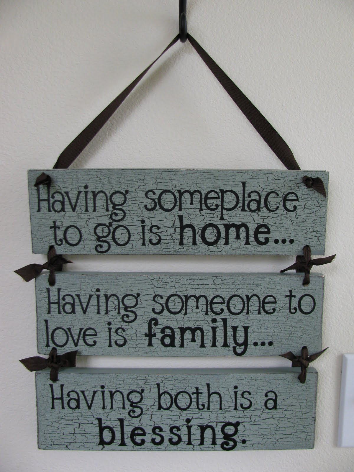 Wall Hanging Quotes My Crafty Playground: Wood Wall Hanging  Having somewhere to go is  Wall Hanging Quotes
