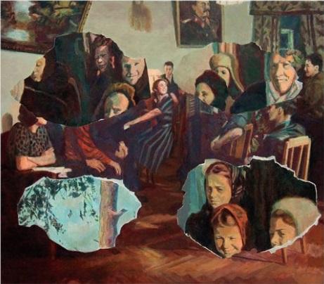 "Ilya Kabakov, ""Collage of Space #6"", 2010."