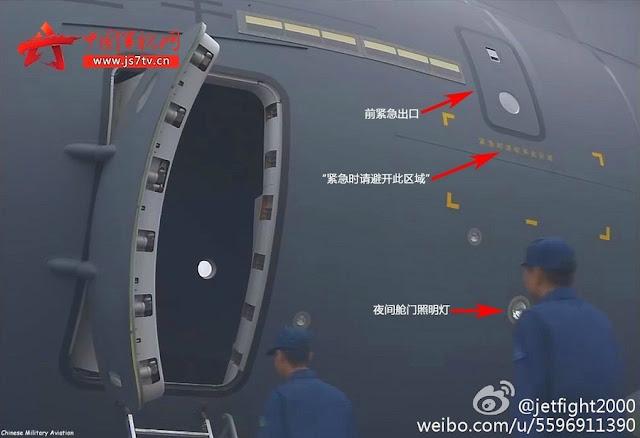 طائره النقل الثقيل الصينيه الجديده Xian Y-20  Chinese%2BY%2B20%2Btransport%2Baircraft%2Bfuselage%2B2