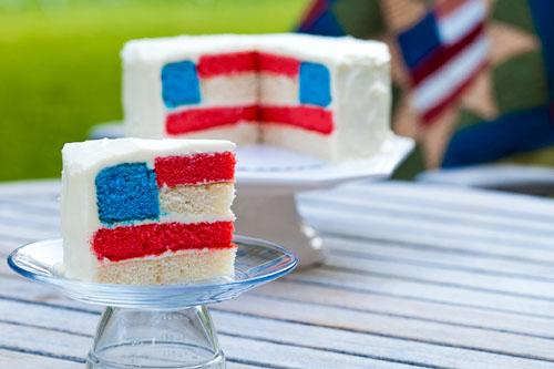 #Fourth_of_July_cake, click for more