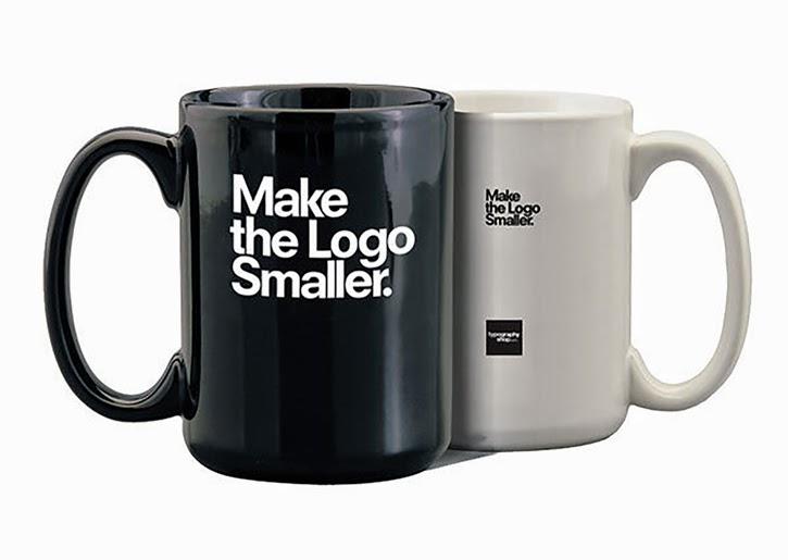 make the logo smaller coffee mugs graphic design blog