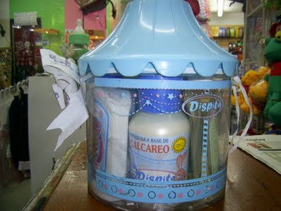 Set Carrusel para baby shower