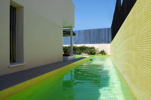 Piscina-Carril-Vivienda-Lujo-Madrid-ACGP Arquitectura