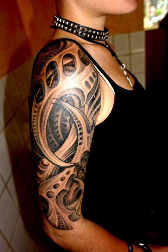 los mejores tatuajes biomecanicos del mundo belagoria la web de los tatuajes. Black Bedroom Furniture Sets. Home Design Ideas