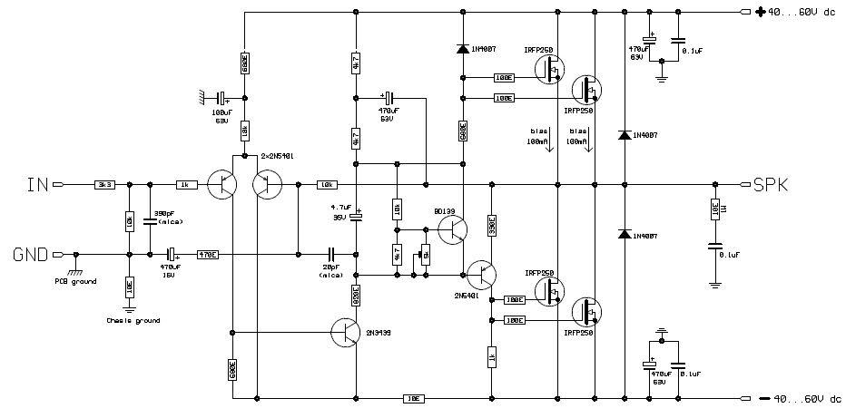 ro electronica  amplificator clasa a cu tranzistoare