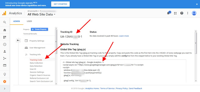 google analytics verification