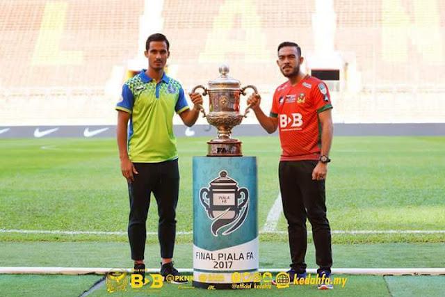 Previu Final Piala FA 2017 Pahang vs Kedah : Pahang Underdog, Kedah Pilihan Juara!